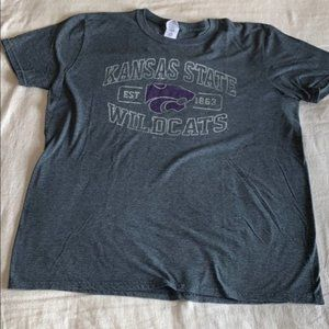 Kansas State Wildcats Mens SS Tee L Large